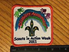 Joey Scouts- Disability Awareness Scouts in Action Week Patch 2011