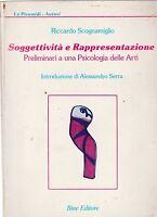 R. Scognamiglio Soggettività e Rappresentazione Bine ed. 1987 5959