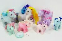 VTG My Little Pony G1 Lot Beddy Bye Rainbow Princess Ponies 1980's Vintage MLP