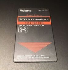 ROLAND R8 Cartridge Card Sound Effects