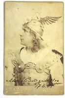 Alois Burgstaller Kabinett Foto mit Autogramm und Datierung