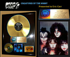 """Authentic, KISS, """"CREATURES OF THE NIGHT""""  RIAA GOLD RECORD AWARD! TO ERIC CARR"""