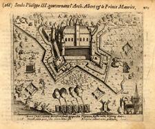 Antique Print-KRAKOW-GERMANY-WAR-Baudartius-1616