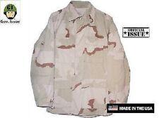 US Army 3 color desert camouflage DCU Outdoor Jacke Shirt LR Large Regular