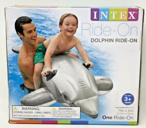 Intex Ride-On Inflatable Dolphin Pool Toy