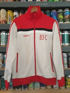 Adidas J.Mano 83-C Mens Small Tracksuit Jacket Track Top Vintage Retro Rare