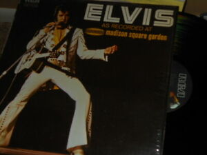 Elvis Presley - Elvis As Recorded At Madison Square Garden 192 Rock NM/NM  LP