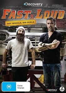 Fast N' Loud - Hot Wheels, Big Deals (DVD, 2016, 2-Disc Set) Region 4