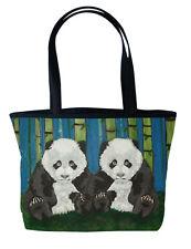 Panda Handbag Tote Bag by Salvador Kitti - Support Wildlife Conservation