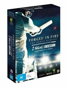 Forged In Fire / 2 Nations 1 Obsession (4-DVD Set) Cricket Pack - New Sealed!