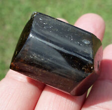 Brown Tourmaline Double Terminated Crystal Point Protection Grounding DT