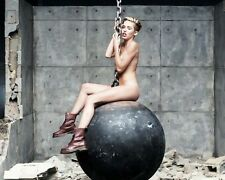 Miley Cyrus Wrecking Ball 10x8 Photo