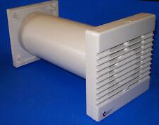 """NVF100T Run on Timer Complete 4"""" Extractor Fan Kit Bathroom Shower Wall Fan"""