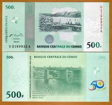 Congo D. R. 500 Francs, 2010 P-NEW, UNC > Commemorative