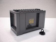 LEGO® Eisenbahn Container grau für 3677, 7898, 7938, 7939 - City - NEU