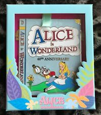Disney Pin WDI MOG Alice In Wonderland Anniversary Jumbo Book Pin