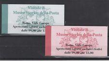 FRANCOBOLLI - 1995 REPUBBLICA 2 LIBRETTI SIMBOLI POSTE Z/7704