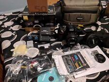 Nikon D5300 DSLR Camera Kit with Af-p 18-55mm and 1.8 50 mm Lenses - Black