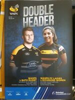 DOUBLE HEADER WASPS V BATH RUGBY/WASPS FC LADIES V RICHMOND WOMENS PROGRAMME