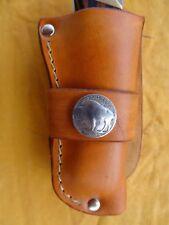 Handmade Leather Knife Sheath Fits Buck 110 and Large Folders