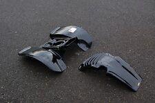 YAMAHA TRI-Z TRI Z YTZ 250 BLACK PLASTIC FRONT AND REAR FENDER SET
