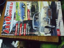 10µ? Revue Automobilia n°6 404 cabriolets Racers 500 Supertraction