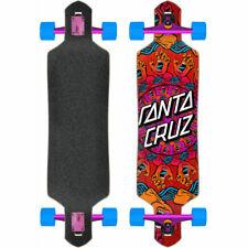 Santa Cruz Mandala Main Longboard Komplett-Board Tomber Par Skateboard Croiseur