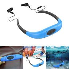 Music Player Waterproof Mp3 Underwater Sports Swimming Diving Fm Radio Earphone