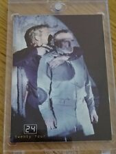 """24"" Tv Series Pieceworks Card Victor Drazen'S Prison Uni! Comic Images Coa M5"