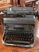 Vintage 1940 Remington Rand Model 17 Typewriter WORKING