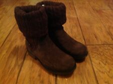 NEW MUK LUKS Women's Kelby Boots BROWN Size 10