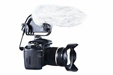 Movo VXR4000-PRO HD Condenser Video Microphone for DSLR Camera + Windscreen