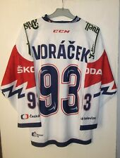 Czech Republic Hockey Jersey Shirt Strida size S #93 Voracek
