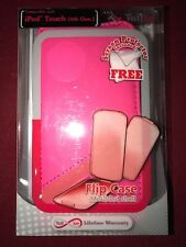 Faux Leather Case for Apple iPod Touch 5Th Gen - Pink *Save £10