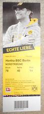 BVB Borussia Dortmund - Hertha BSC Eintrittskarte 2011/2012 1:2