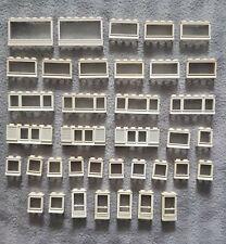Lego Vintage Alte Fenster Und Tür Weiß 37 Stück City Creator Eisenbahn (5)