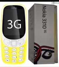 Brand New Nokia 3310 Unlocked 3G  TA-1022  yellow Colour Single Sim UK Stock