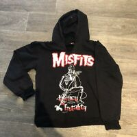 Vintage MISFITS Hoodie Jumper Band Grail 1999 Legacy Of Brutality Size L