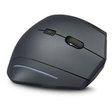 Speedlink Manejo Ergonomic Wireless USB Vertical Mouse, Black