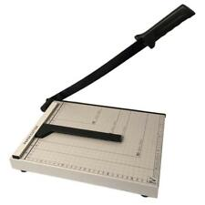 """Heavy Duty A4 Paper Cutter Base Adjustment 12""""x10"""" Guillotine Trimmer Blade Arts"""