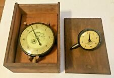 1950's Federal Indicator Inspection Gages .0001+No.C6Q With Box Original+Nice!