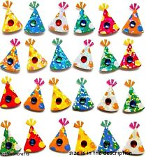 EK SUCCESS JOLEE'S BOUTIQUE 3-D GEMSTONE STICKERS - BIRTHDAY PARTY HAT REPEATS