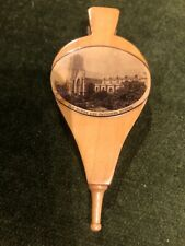 More details for antique mauchline ware pin cushion like bellows,dundee  decor