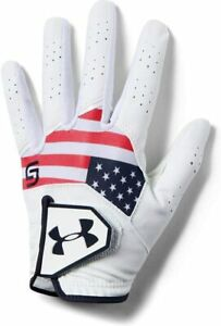 Under Armour Boys' Youth CoolSwitch Golf Glove White ( S )