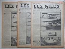 AILES 1936 771 BREGUET CAUDRON RENAULT 570 ASBOTH ETHIOPIE MARINE FARMAN POU