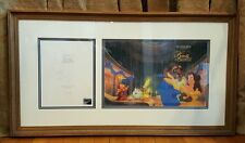 Sothebys Auction Catalog The Art Of Beauty And The Beast 1992 Disney Framed