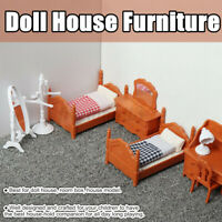 Doll House Miniature Furniture Play Toys Dollhouse Accessory Set Children  AU1