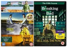 Breaking Bad Season 1-5 Complete TV Series 1 2 3 4 5 Collection Season New DVD
