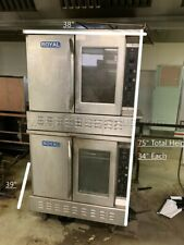 Royal Range Rcos 2 Commercial Gas Convection Oven Double Deck Used Good