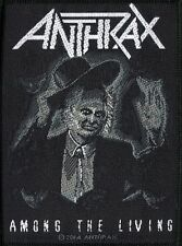 Anthrax ' Among The Living ' Woven Patch